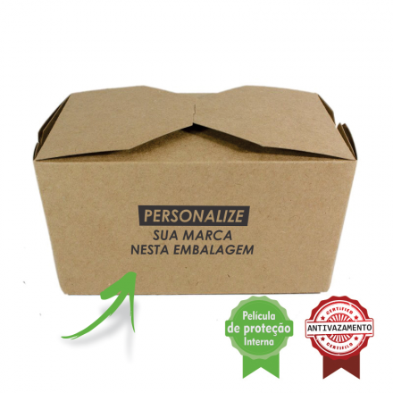 Embalagem Eco Box F192P – 500 ml - 1mil unidades