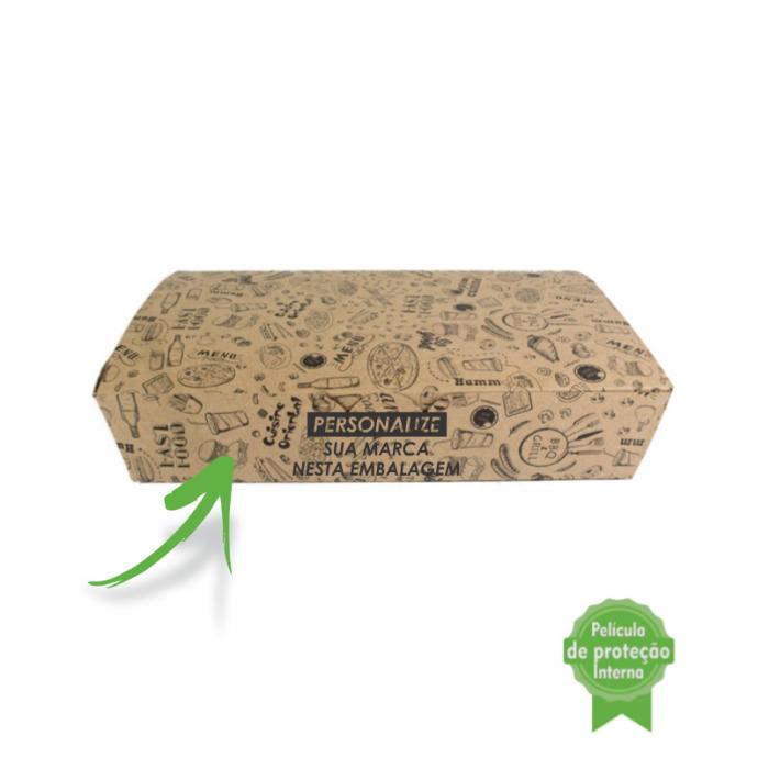 Embalagem Eco Box F292P – 2.400 ml - 3mil unidades