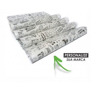 Papel Embrulho Greasepel WG307P - 10.000 unidades