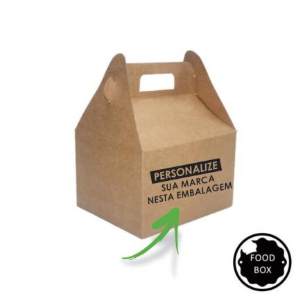 Embalagem Kit Lanche - F105 - 3000 unidades