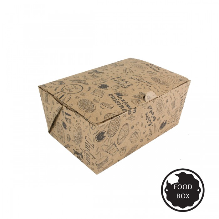 Embalagem Eco Box F175P - 900 ml - 3.000 unidades