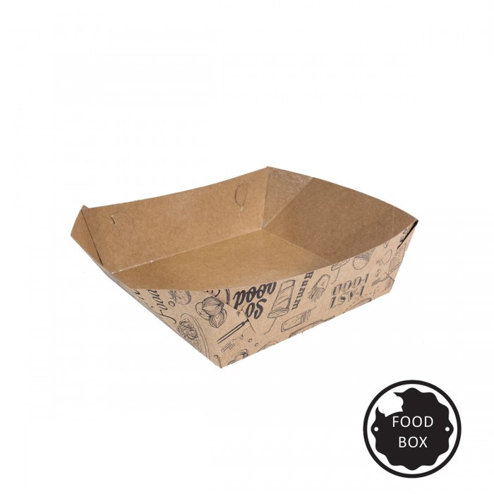 Embalagem Eco Box F182 Padrão - 350 ml - 100 unidades