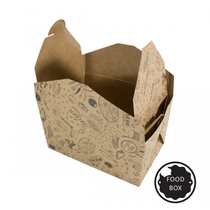 Embalagem Eco Box F194 – 750ml - 100 unidades