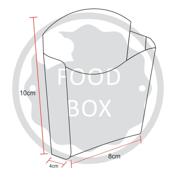 Embalagem Eco Box F209 - 140g - 100 unidades