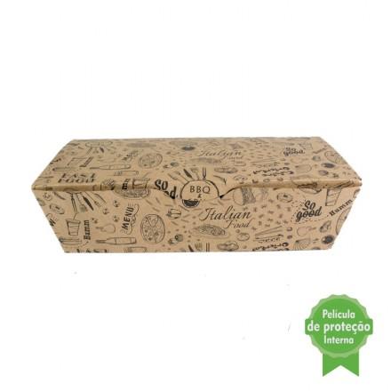 Embalagem Eco Box F252 – 1.400 ml - 100 unidades
