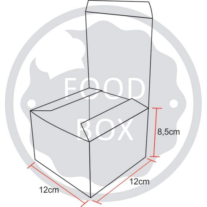 Embalagem Eco Box F274 – 1.200 ml - 100 unidades