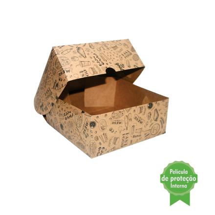 """Embalagem Eco Box F278 """"COMBO"""" - 3.200 ml - 100 unidades"""
