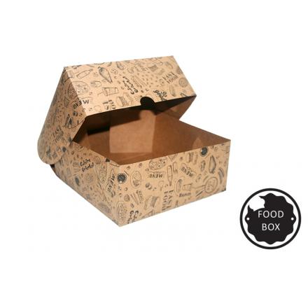 """Embalagem Eco Box F278 """"COMBO"""" - 3.200 ml"""
